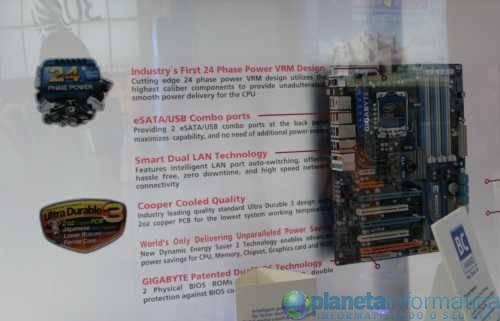 ex58a - [Computex 2009] Gigabyte exibe placas com VRM de 24 fases