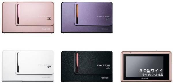 fujifilm finepix z300 06 11 09.thumbnail - Fujifilm anuncia câmeras FinePix Z300 com tela tátil