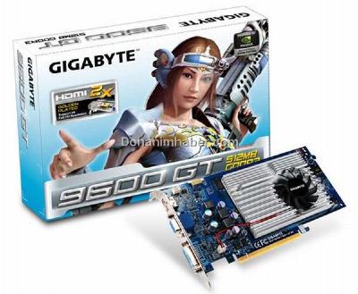 gigabyte geforce 9600 gt ee dh - Gigabyte estreia GeForce 9600 GT eficiente