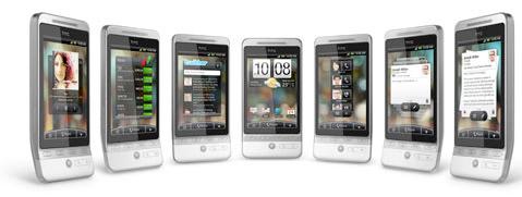 htc hero 5 - HTC Hero, Um Smartphone Android Heróico com Adobe Flash