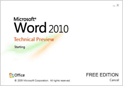 image office2010 beta test 01 - Quer o Office 2010 gratuito? Então teste-o!