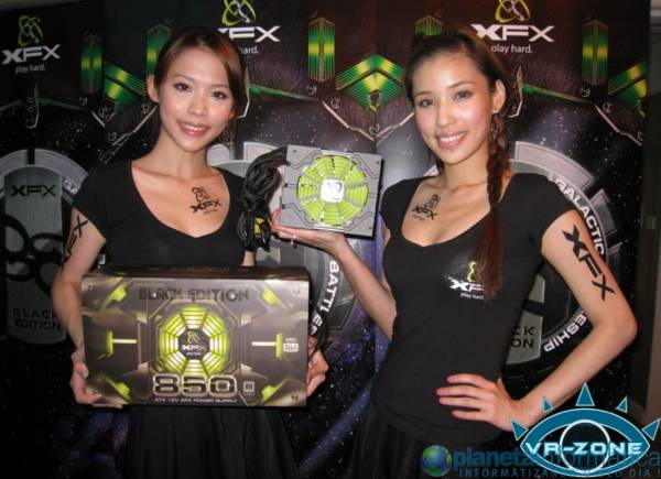 xfxcomputex09 1.thumbnail - [Computex 2009] XFX mostra PSU 850W Black Edition
