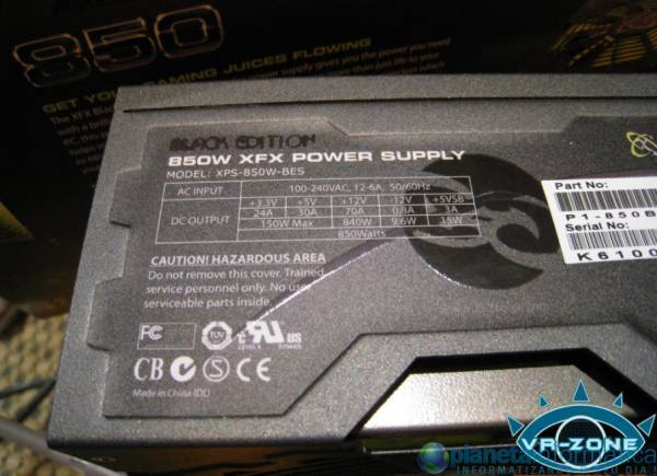 xfxcomputex09 4.thumbnail - [Computex 2009] XFX mostra PSU 850W Black Edition