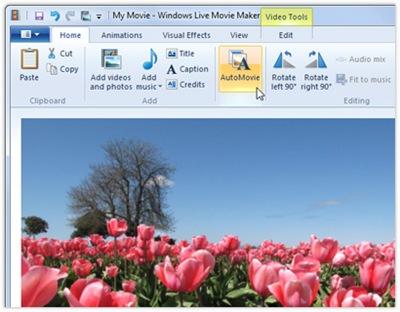 35904 02 - Algumas imagens do novo Windows Live Movie Maker