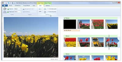 35904 03 - Algumas imagens do novo Windows Live Movie Maker