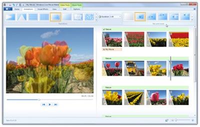 35904 04 - Algumas imagens do novo Windows Live Movie Maker