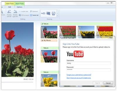35904 05 - Algumas imagens do novo Windows Live Movie Maker