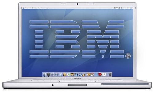 ibm macbook pro 17 - IBM aumenta margem de lucro e surpreende