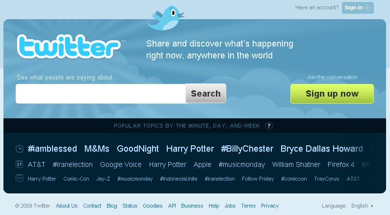 twitter new home - Twitter pede ajuda a usuários para traduzir serviço para novos idiomas