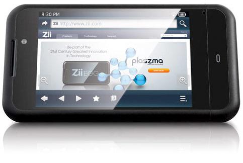 zii egg dd 2 - Creative Zii Egg, Um Player Android com Tela Multi-touch