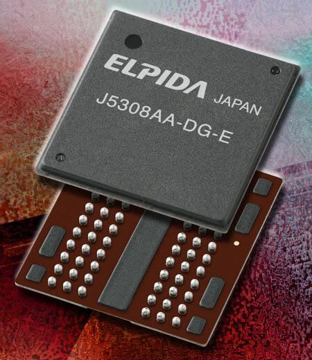 Elpida Memory DDR3 - Elpida começará a produzir em 40nm em 2010.