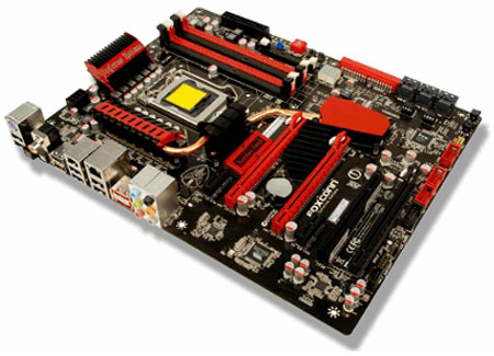 Foxconn Inferno Katana board - Placa P55, Foxconn Inferno Katana