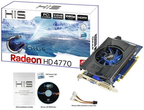HIS Radeon HD 4770 iCooler III 01 - HIS Radeon HD 4770 iCooler III