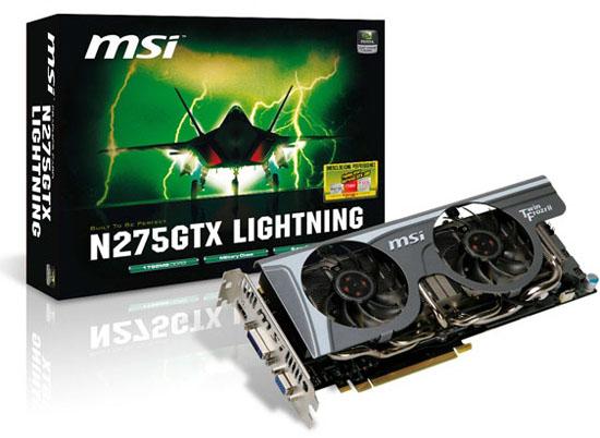 MSI N275GTX Lightning 03 - Placa de vídeo MSI N275GTX Lighting