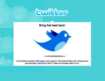 Twitter 20090806121707 - Twitter sofre ataque de negação de serviço