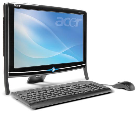 acer veriton - Acer Veriton Z280G, Um All-In-One Básico mas Interessante