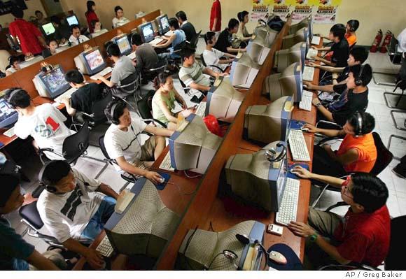 chim - Número de internautas no Brasil cresceu 10% em julho