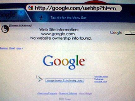 gos3 - Supostas imagens do Google Chrome OS