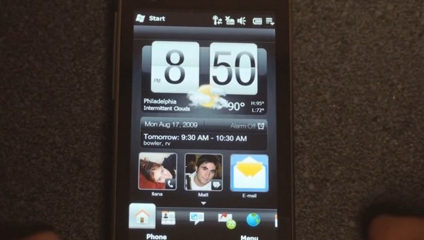 htc touchflo 3d 2.6 - TouchFLO 3D 2.6, assim será a interface da HTC Leio