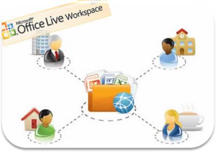 imagem microsoft office live workspace01 small - Microsoft Office Live Workspace (Beta)