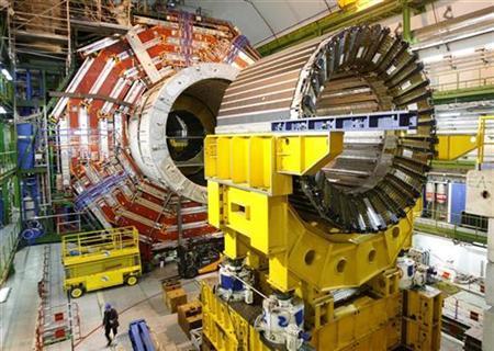 lhc cern - LHC volta com metade da capacidade