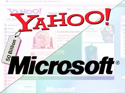microsoft yahoo 1 - Yahoo receberá US$ 50 milhões da Microsoft por 3 anos