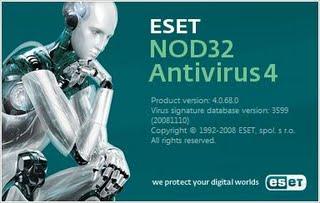 nod 32 4 - Antivírus NOD32 4 economiza energia de notebook