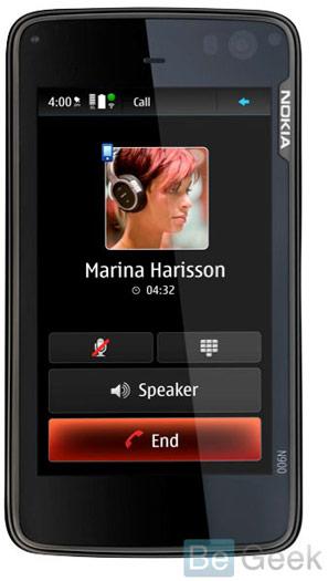 nokia n900 - Primeira Imagem do Nokia N900