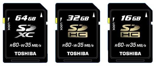 sdxc 1 - Toshiba prepara seu primeiro cartão SDXC