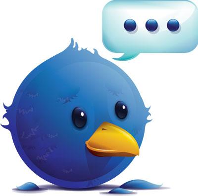 twitter social icons - Twitter ganhou 7 mi de usuários em junho