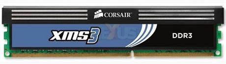Corsair prepara módulos DDR3 XMS 3 otimizados para os Core i7/i5.