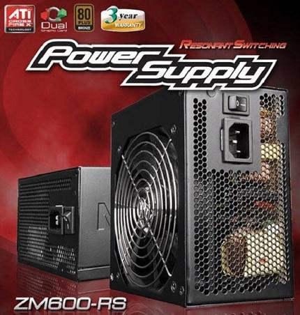 zm600 - Fonte Zalman ZM600-RS