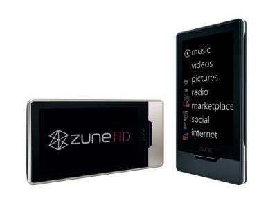 zunehd - Microsoft libera características técnicas do Zune HD