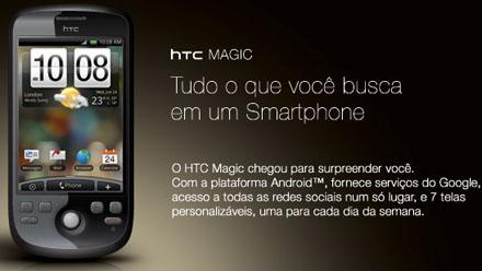 8586 - HTC Magic chega às lojas brasileiras na primeira quinzena de outubro