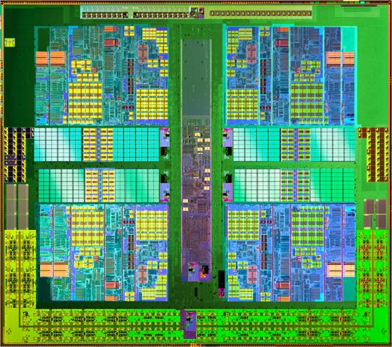 Athlon II X4 Die - AMD lança o primeiro Quad Core de USD 100.