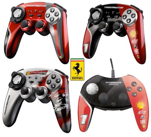 Gamepads Ferrari - Gamepads da Ferrari!