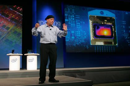 Intel Core i7 - Intel mostra chip Core i7 para notebooks