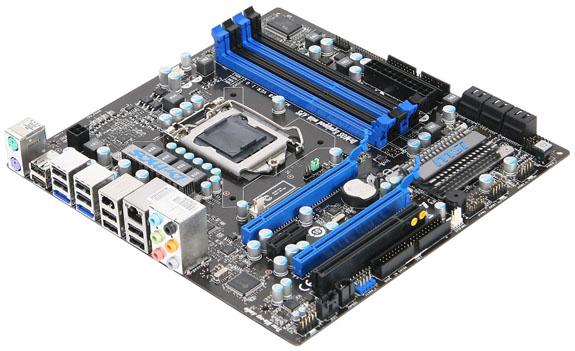 MSI P55M GD45 board 01 - MSI: A P55M-GD45