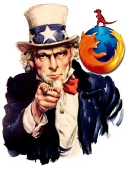Mozilla Wants You small - Mozilla convoca geeks a ajudar a tornar a internet mais acessível