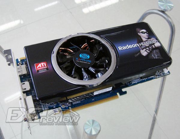 Sapphire HD 4860 Platinum - Sapphire apresenta ATI HD 4860 Platinum Graphics Card