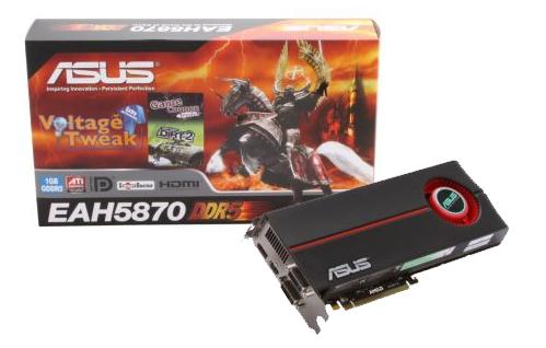 asus hd5870 2 - ASUS ofrece las primeras HD 5800 con overclock
