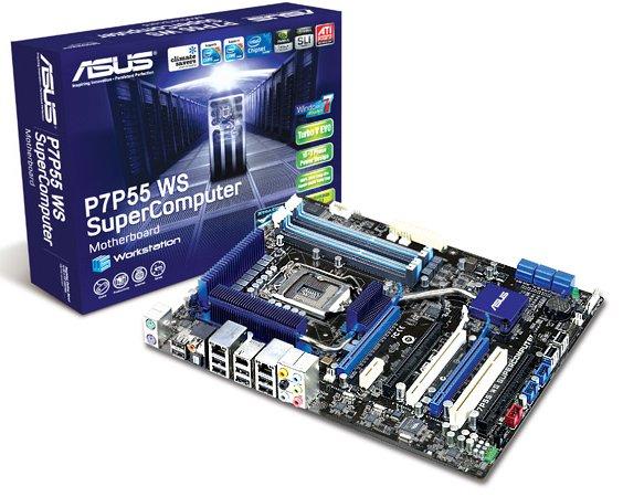 asus p7p55 ws supercomputer - Placa ASUS P7P55 WS SuperComputer