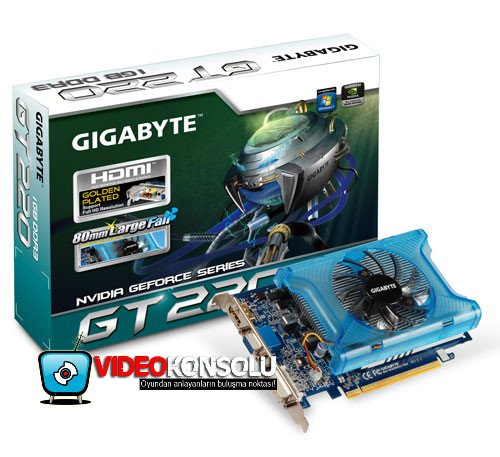 gigabyte geforce gt220 oc vk - Imagens da Gigabyte GeForce GT220 OC