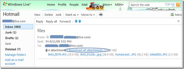 image thumb9 - Microsoft prepara atualizações para o Hotmail