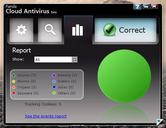 pcloud2 3 - Panda Cloud Antivirus 0.08.83 Beta 3