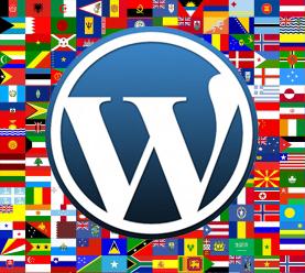 WordPress com tradução automática