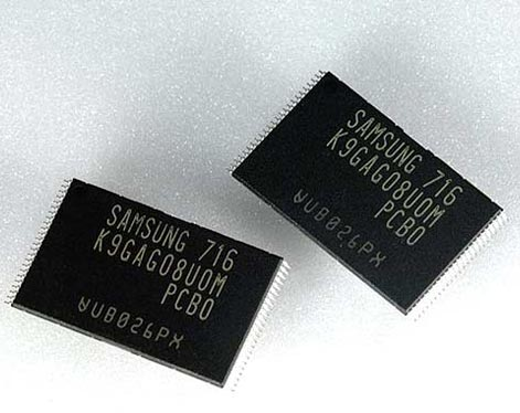 Memória Samsung NAND Flash 32nm