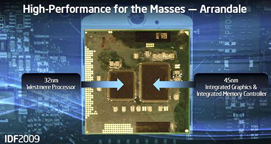 "Arrandale die - A Intel vai lançar o Celeron P4500 ""Arrandale"" de 32nm"