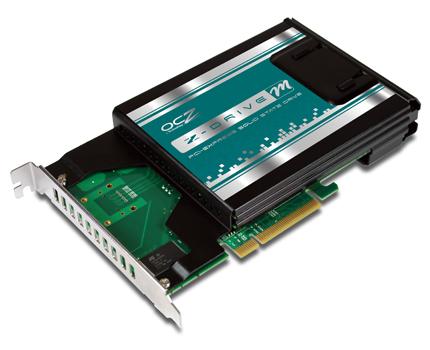 OCZ Z Drive m84 SSD 01 - OCZ apresenta seus SSD Z-Drive m84 PCIe