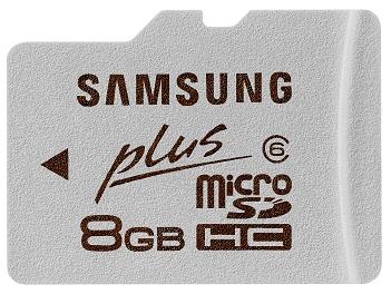 Samsung 8GB microSDHC card 01 - Samsung lançará pela primeira vez cartões de memória